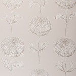 Clarke & Clarke Dahlia wallpaper Natural