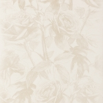 Clarke & Clarke Empress Rose wallpaper Pearl