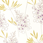 Clarke & Clarke Foxglove wallpaper Heather