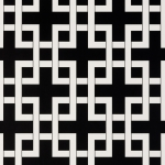 Clarke & Clarke Lattice wallpaper Charcoal