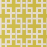 Clarke & Clarke Lattice wallpaper Citrus