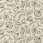 Clarke & Clarke Marie wallpaper Charcoal Cream
