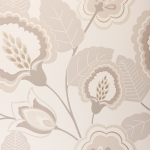 Clarke & Clarke Orissa wallpaper Natural