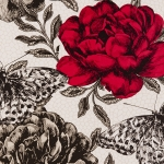 Clarke & Clarke Papillon wallpaper Rouge