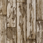 Clarke & Clarke Peeling Planks wallpaper Antique