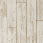 Clarke & Clarke Peeling Planks wallpaper White