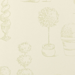 Clarke & Clarke Topiary wallpaper Sage