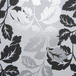 Clarke & Clarke Ornella wallpaper Black/White