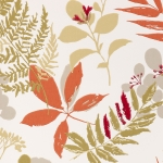 Clarke & Clarke Woodland wallpaper Spice